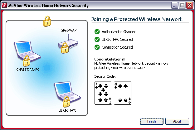 McAfee Secures Home Networks - Wi-Fi Networking News